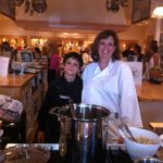 My son & I Cooking at Williams Sonoma
